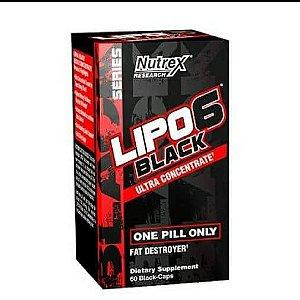 Lipo 6 Black Nutrex Termogênico 60 Cápsulas