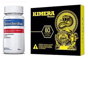 Combo Emagrecimento e Definição - Testosterol 500 + Kimera