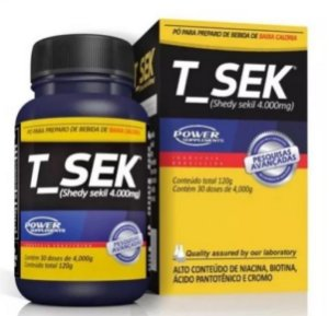 T-Sek Diurético e Emagrecedor 120g - Power Supplements