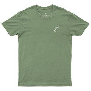 Camiseta Algodão Orgânico - Pássaro