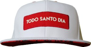 BONÉ TSD365 - SNAPBACK WHITE & RED LUXURY
