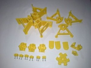 Kit Peças Plásticas para Mini Kossel