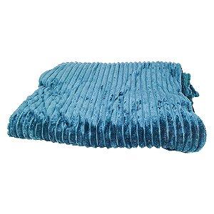 Manta Cobertor Frisado - 180 x 200 Cm - 100% Poliéster