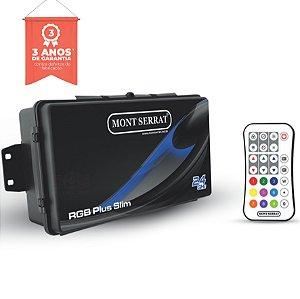 Caixa de Comando - Central Plus Slim para 18 Super Leds RGB - Com Controle