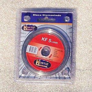 Disco de Corte - Diamantado - Kortiz - KF 5 Laser