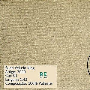 Tecido - Suede King para Tapeçaria