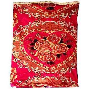 Manta Decorativa 1 - Tecido de Malha - 200 X 180 Cm