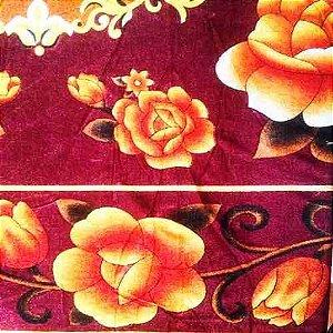 Manta Decorativa 2 - Tecido de Malha - 200 X 180 cm