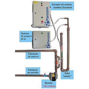Ozônio para Piscinas de Condomínio Até 300 M³ - Panozon - Standard