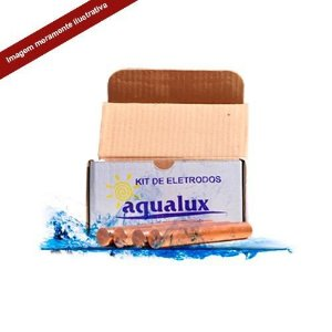 Kit Eletrodos para Ionizador Aqualux - Splash 50 - Kit C-8