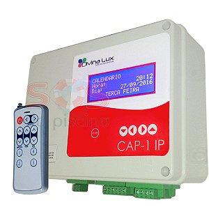 Controlador Automatizador de Piscina - CAP 1 - 2 Saídas  Auxiliares