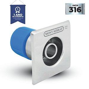 Dispositivo de Retorno Inox Encaixe Quad - 1 1/2 - 50 mm - Mont Serrat