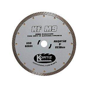 Disco de Corte - Diamantado - KORTIZ - KF M9 - Serra Diamantada