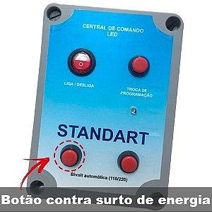 Caixa de Comando P 560 Leds ou 6 Super Led Contra Surto Energ