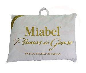Travesseiro Miabel Suprema 100% Plumas De Ganso *Extra Selecionado*  50x70 cm