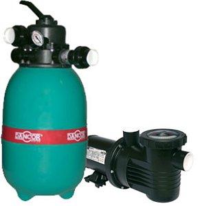 Filtro E Motobomba Dfr 12  Até 30 M³ - 1/3 Cv  -  Dancor