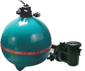 Filtro E Motobomba Dfr 30  Até 147 M³ - 2,0 Cv  -  Dancor