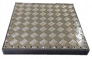 Tampa Ventilada para Casa de Máquinas Alumínio 100 x 100  cm