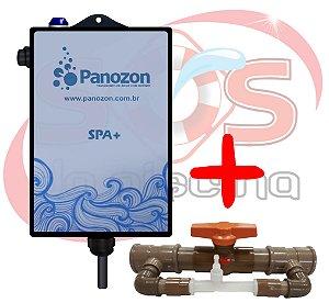 Ozônio Panozon SPA+ para banheiras - spas - ofurôs de até 3.000 litros (Gerador com By pass )