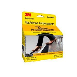 Fita Antiderrapante 3M Safety-Walk  TRANSPARENTE - 50 mm x 5 m