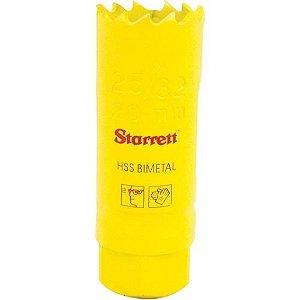 SERRA COPO Aço Rapido  STARRETT 27mm   SH0116