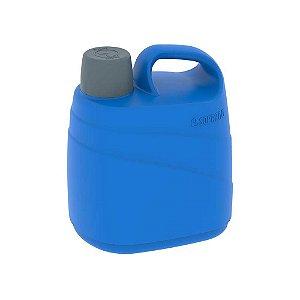 Botijão Cooler  5 Litros Isotérmico Alça Azul Soprano