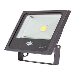 REFLETOR  LED ECOLUME PRETO 30W 2000  LUMENS 3000K