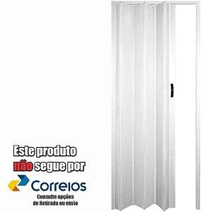 PORTA SANFONADA PERLEX PVC 60 X 210 BRANCA