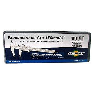 PAQUIMETRO BRASF.ACO 150x0,02mm8069