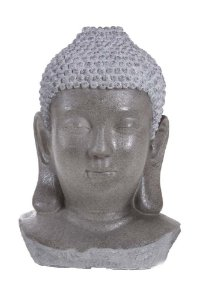 Fonte de Água Cabeça de Buda em Poliresina 82cmx55cmx34cm Vênus Victrix