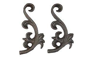 Ornamento Decorativo de Ferro Fundido 19cmx8cm Vênus Victrix