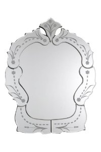 Espelho Veneziano Bisotado 50cmx40cm Vênus Victrix