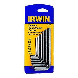 CHAVE ALLEN IRWIN 1,5 a 10,0 KIT 09 peças