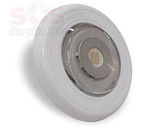 Refletor SLIM Power  em ABS Monocromatico AZUL 13W - Encaixe 3/4