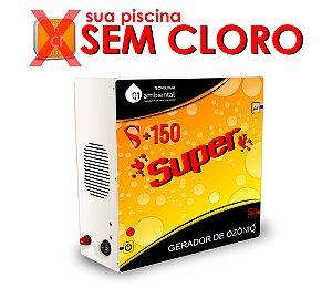 Ozônio - Q1 Ambiental S+150 SUPER  Para Piscinas até 150000 Litros -Residencial