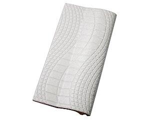 Borda Pastilhado Branco   -12 x 25 Cm