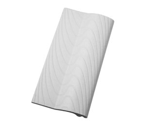 Borda Sithal Branco   - 12 x 25 Cm