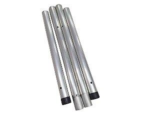Haste biribol em aluminio