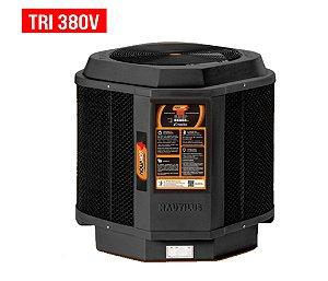 Trocador de Calor - Nautilus - Aquahot  - Black Edition -  AA-85 - Tri 380v