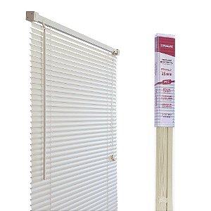 PERSIANA HORIZONTAL PVC BEGE L100CM X A130CM X 25MM
