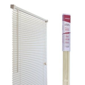 PERSIANA HORIZONTAL PVC BEGE L160CM X A160CM X 25MM