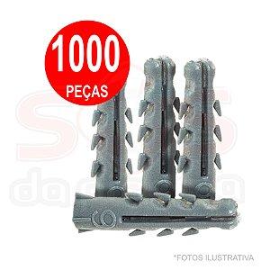 BUCHA FIXACAO ARGEVISION 06 MM  SACO 1000 PECAS