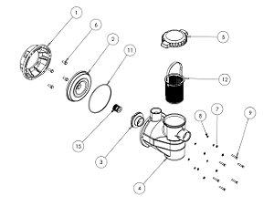 Peças de Reposição - pré filtro Veico