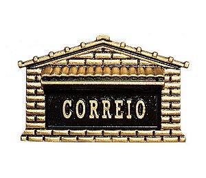 CAIXA DE CORREIO EM ALUMÍNIO FUNDIDO COLONIAL - CX 2B