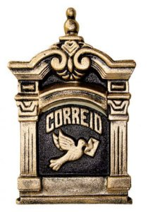 CAIXA DE CORREIO ALUMÍNIO FUNDIDO - N 12