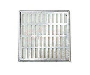 Ralo Grelha Suporte 30 x 30 Cm Alumínio C Tela Anti-Inseto