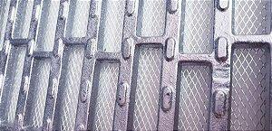 Ralo grelha e porta grelha anti-derrapante tela inseto 10X100