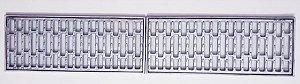 Ralo grelha e porta grelha anti-derrapante tela inseto 20X100