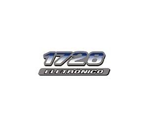 Adesivo Para Caminhão - Mercedes Benz - 1728 Eletrônico