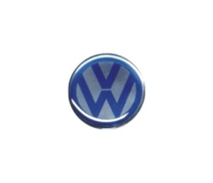 ADESIVO DE CALOTA Linha Volkswagen - VOLKSWAGEN AZUL